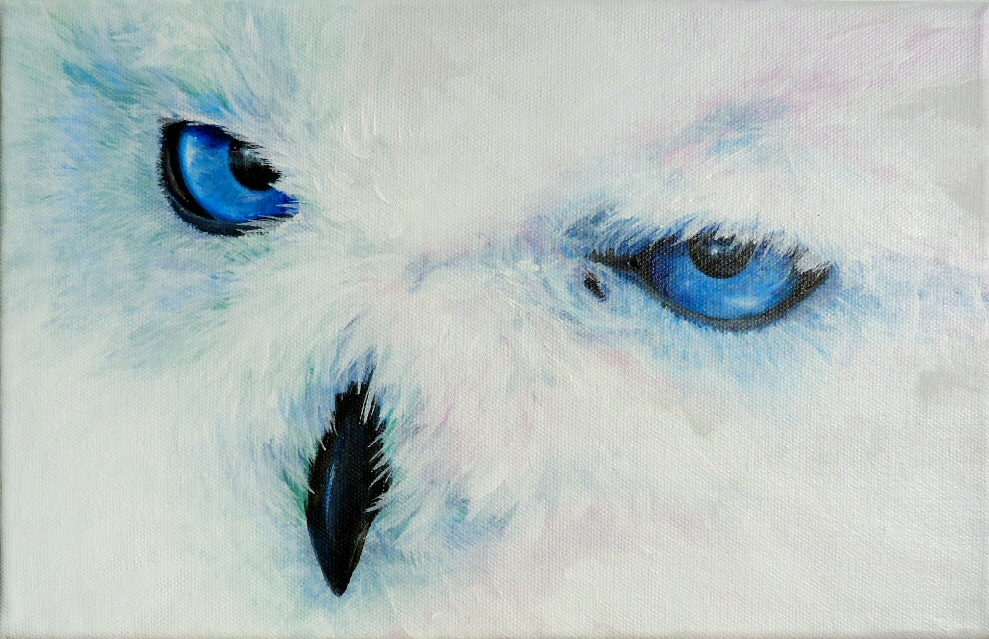 Acrylmalerei Eule - 177 Bilder und Ideen - gemalt - auf KunstNet