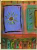 Malerei, Abstrakt, Sonnenschein