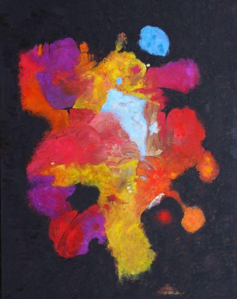 Panel, Expressionismus, Abstrakt, Ölmalerei, Malerei