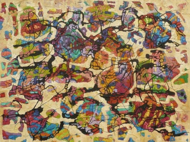 Abstrakt, Expressionismus, Ölmalerei, Meditations, Panel, Malerei