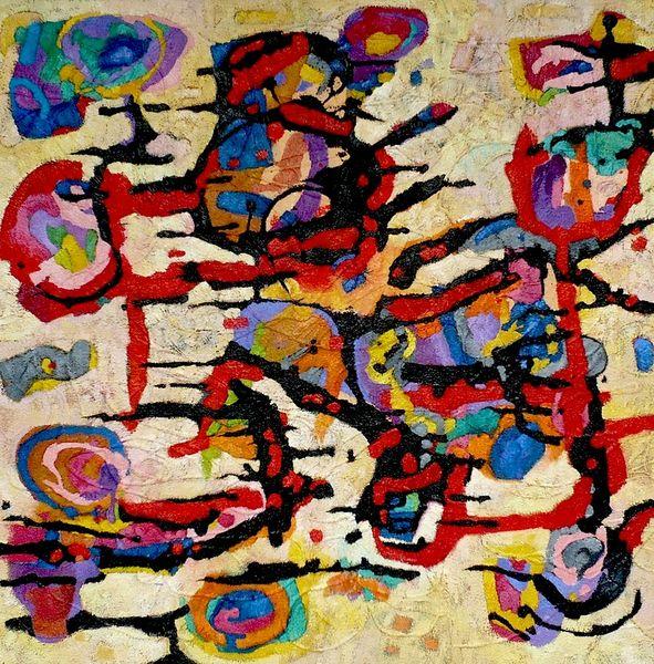 Expressionismus, Panel, Abstrakt, Meditations, Ölmalerei, Malerei