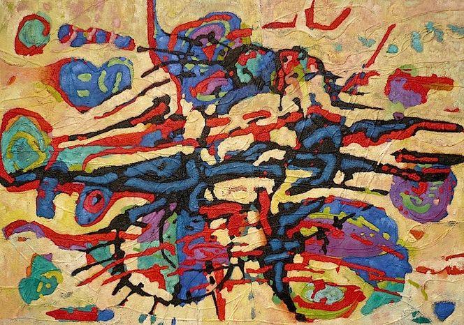 Abstrakt, Ölmalerei, Meditations, Panel, Malerei, Meditation