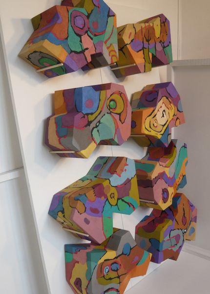 Panel, 3d, Expressionismus, Abstrakt, Ölmalerei, Malerei
