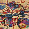 Ölmalerei, Meditations, Panel, Abstrakt