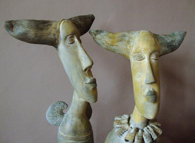 Keriamk, Clay, Portrait, Skupltur, Kunsthandwerk, Keramik