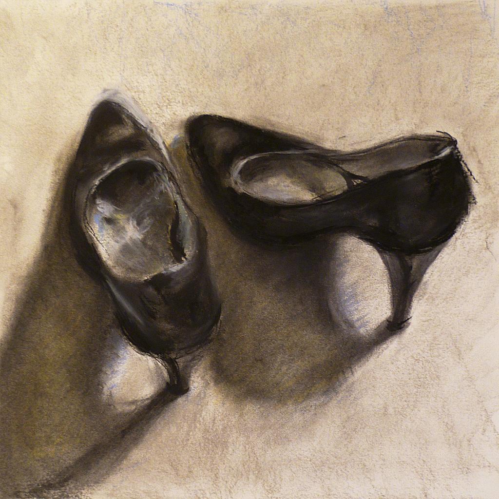 In Schuhe Wichsen