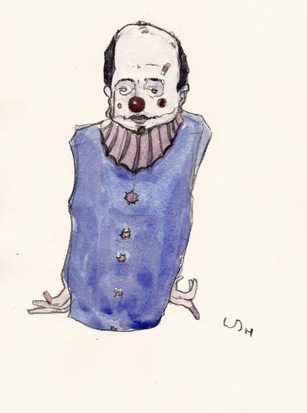 Zeichnungen, Comic, Clown