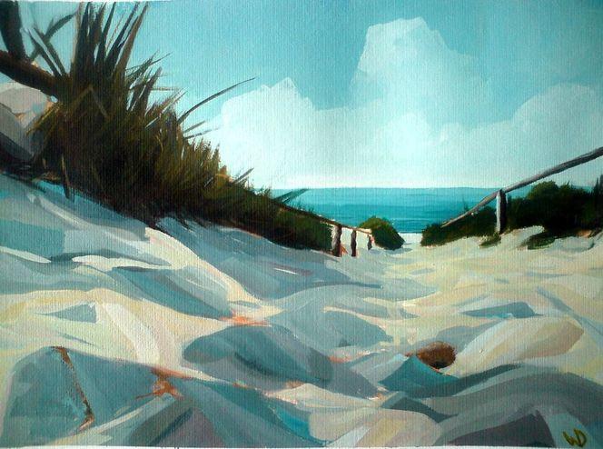 Strand, Sand, Watt, Norddeutschland, Wolken, Meer