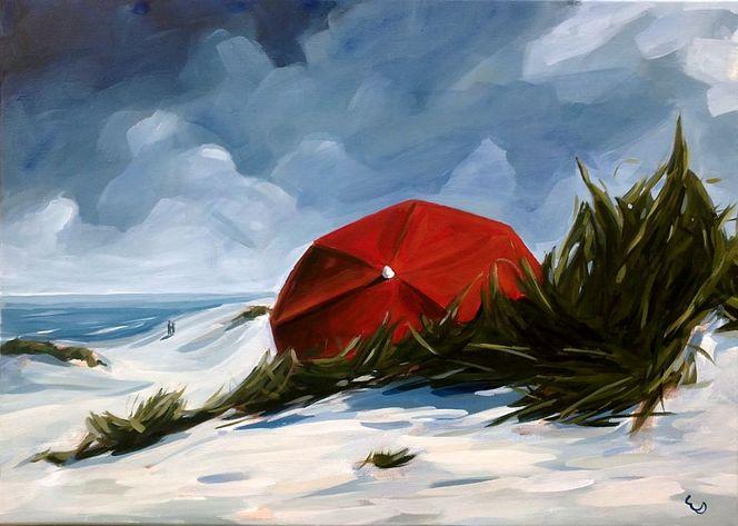 Sonne, Strand, Gras, Meer, Ruhe, Paar
