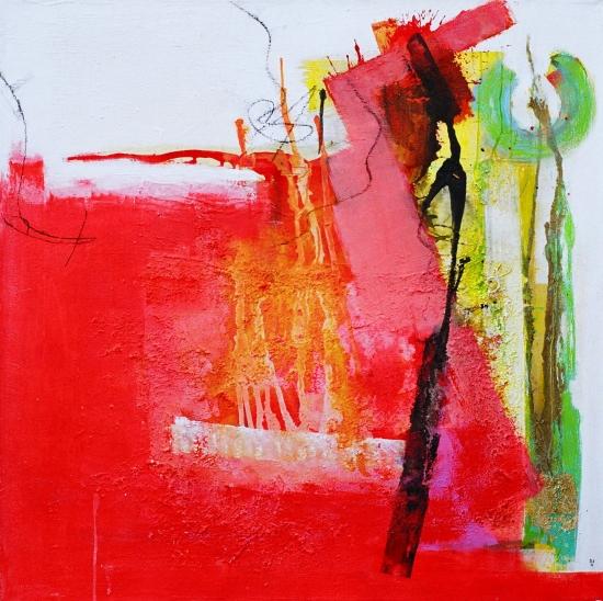 Abstrakt, Malerei, Design, Modern, Tag,