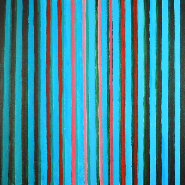 Acrylmalerei, Abstrakt, Linienbilder, Malerei, Licht,