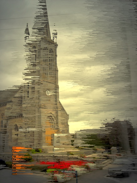 Kirche, Fotografie, Reiseimpressionen, Wind