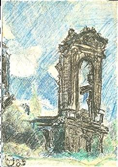 Frauenkirche, Sachsen, Dresden, Zeichnungen, Menschen, Ruine