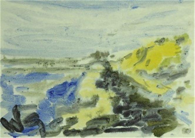Schweden, Wasserwelten, Blumengarten, Aquarellmalerei, Suannegottschalk, Willigottschalk