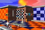Menschen, Gebäude, Schachfiguren, Spieler