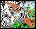 Tusche, Buntstiftzeichnung, Malerei, Surreal