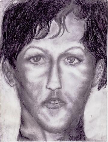 Bleistiftzeichnung, Zeichnung, Frau, Portrait, Zeichnungen