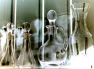 Flasche, Geist, Transparenz, Digitale kunst