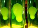 Glas, Blase, Grün, Dekoration