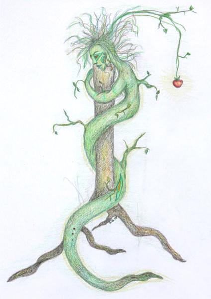 Modern, Natur, Spirituell, Abstrakt, Zeichnungen, Surreal