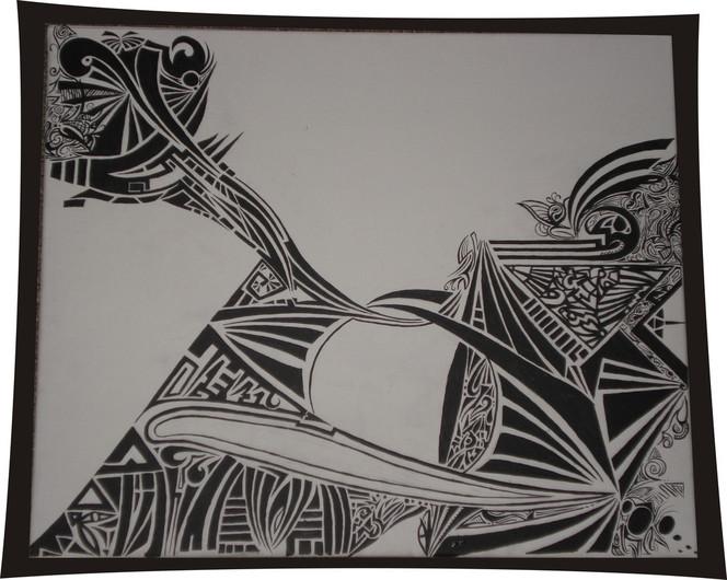 Tribal, Wilde, Malerei,