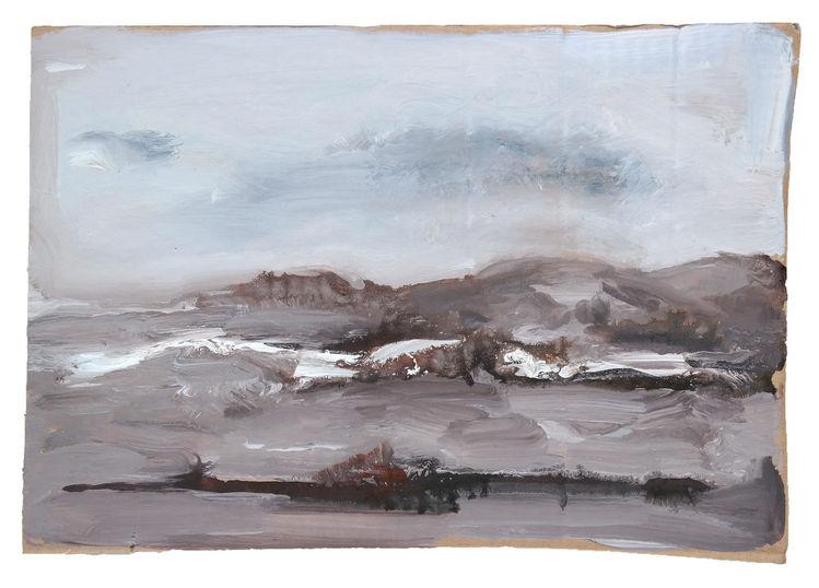 Landschaft, Aufregung, Malerei