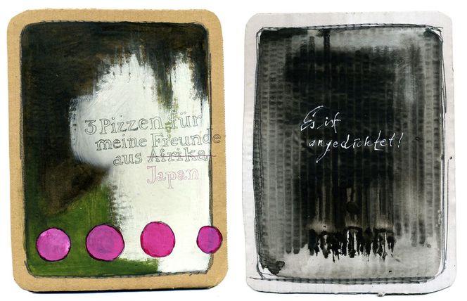 Tarot, Malerei