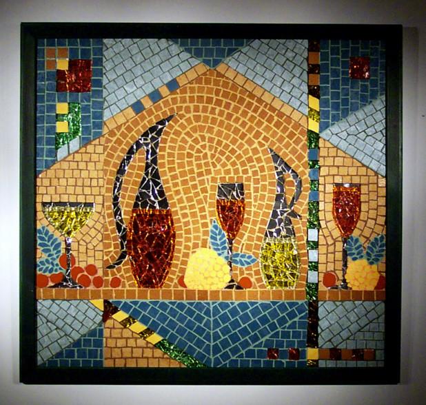 bild mosaik kunsthandwerk von maria haag bei kunstnet. Black Bedroom Furniture Sets. Home Design Ideas