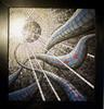 Dunkel, Licht, Mosaik, Kunsthandwerk
