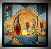 Mosaik, Kunsthandwerk, Wandbild