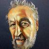 Realismus, Gesicht, Portrait, Malerei