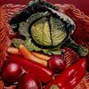 Zwiebeln, Wirsing, Karotte, Gemüse