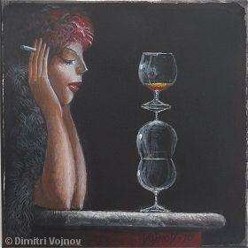 Malerei, Figural, Einsamkeit