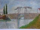Ölmalerei, Malerei, Surreal, Brücke