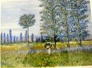 Ölmalerei, Malerei, Spaziergang, Monet