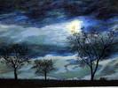 Ölmalerei, Malerei, Nacht