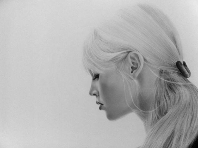 Zeichnungen, Portrait, Leere