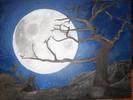 Mond, Ölmalerei, Malerei, Menschen