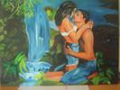 Puzzle, Malerei