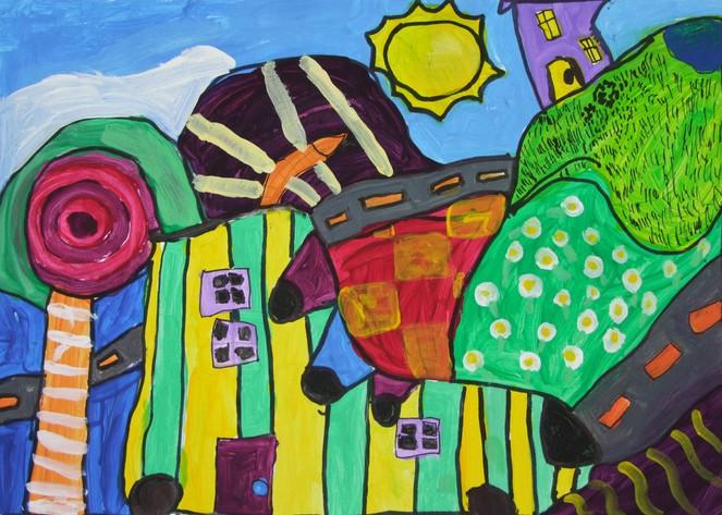 Zeichnung, Acrylmalerei, Malerei, Abstrakt