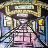 Acrylmalerei, Bahn, Malerei