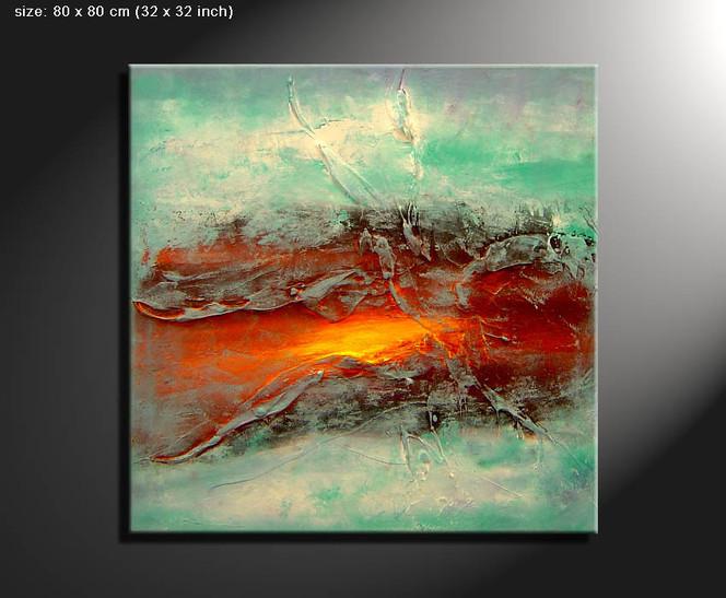 Malerei, Gemälde, Abstrakt,