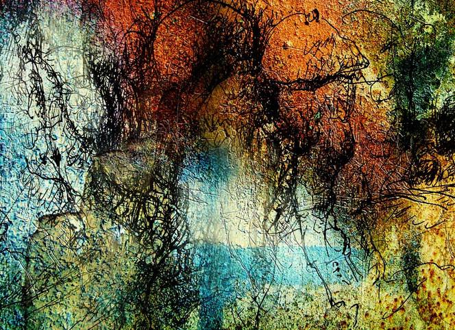 Geschwätzig, Scheinbar, Äußerlichkeiten, Metamorph, Malerei, Abstrakt