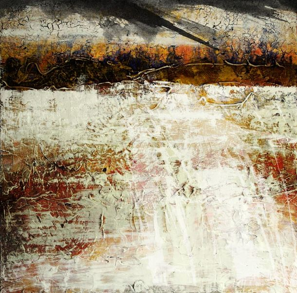 Spontan, Morgen, Malerei, Abstrakt,
