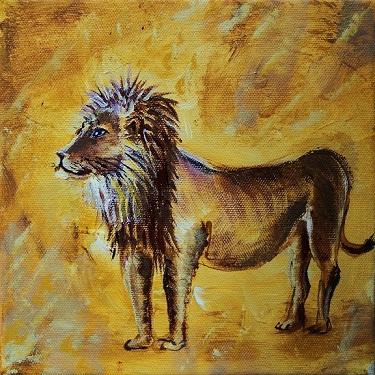 Afrika, Jagd, Löwe, Sand, Tiere, Braun