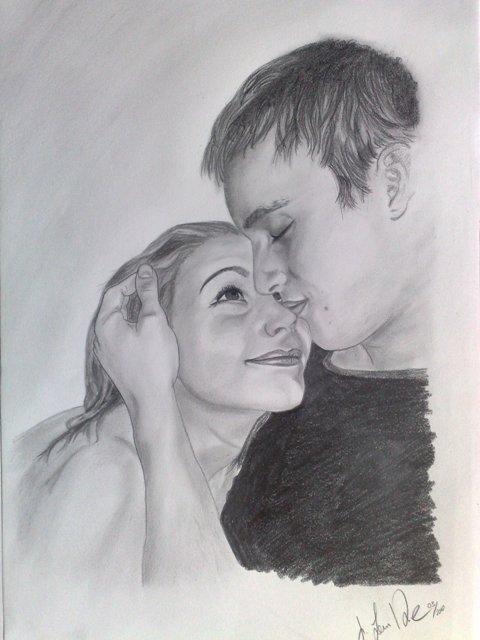 110 Bleistiftzeichnung Liebe Zeichnung Bilder Und Ideen Auf Kunstnet