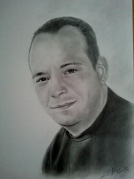 Zeichnungen, Portrait, Mann