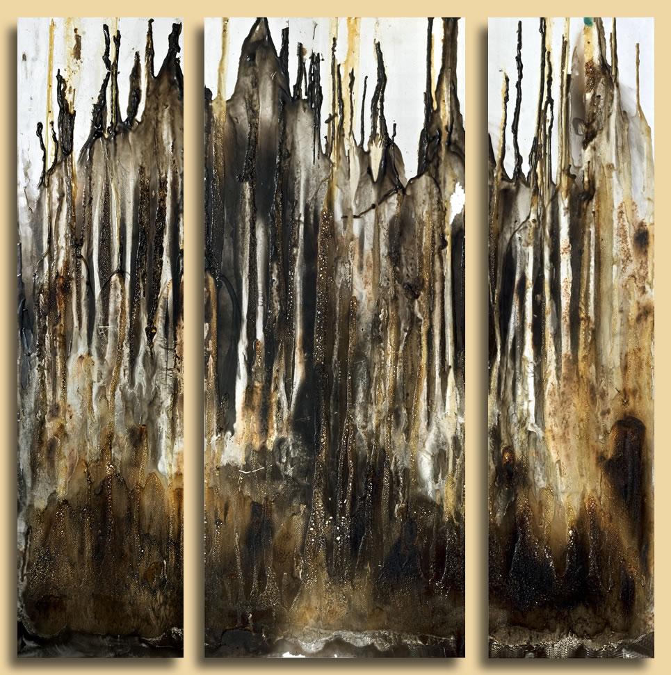 bild triptychon repro gallerie schutzversiegelung von heinz friedrich kaiser bei kunstnet. Black Bedroom Furniture Sets. Home Design Ideas