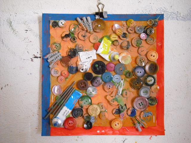 Skulptur, Experimentelle plastik, Relief, Mixed media, Mischtechnik, Plastik