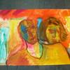 Ölmalerei, Figurative malerei, Malerei, Paar